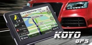 KOYO GPS sedmed sõidu- ja veoautodele