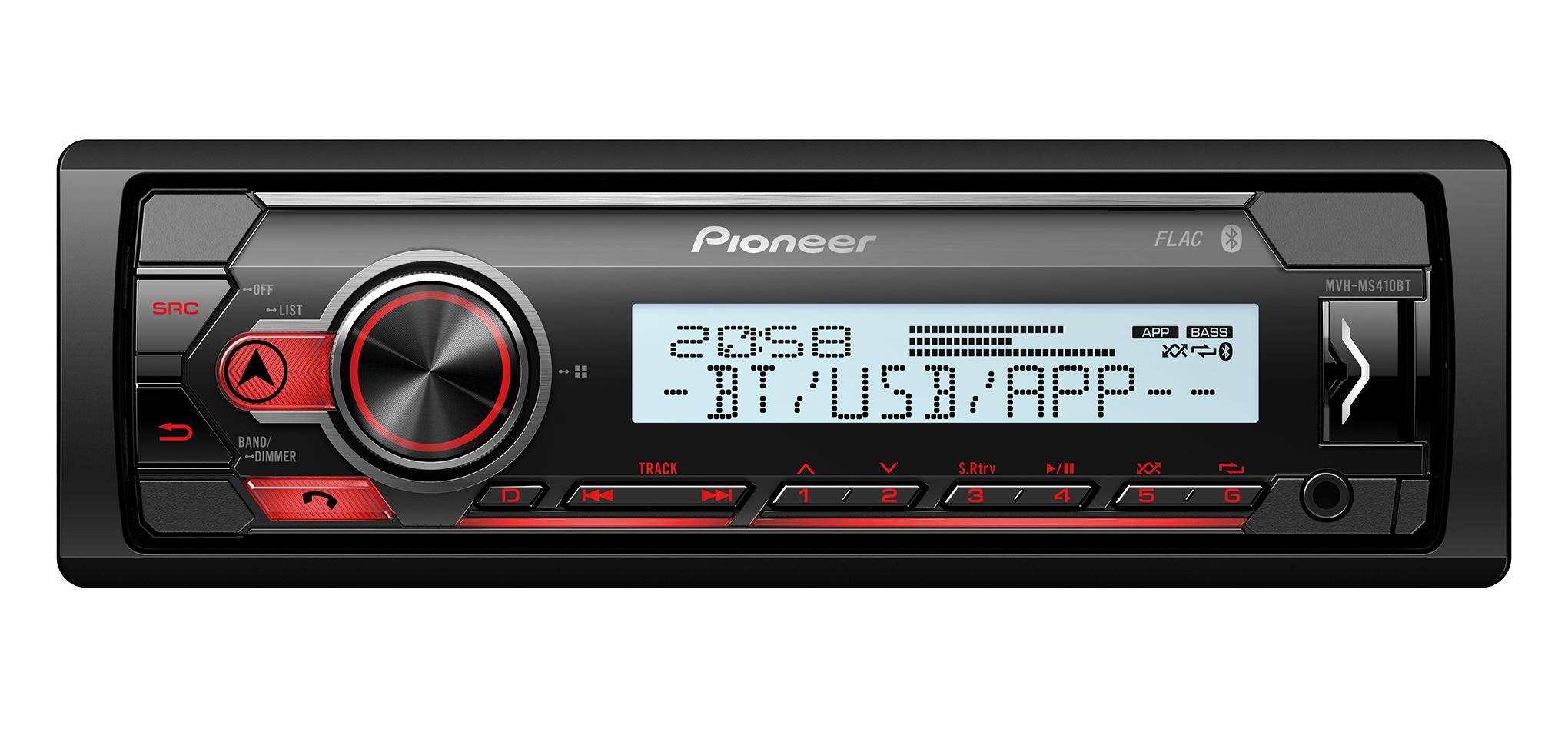 Pioneer MVH-MS410BT